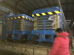 10米2台发往内蒙古