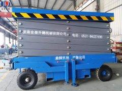 12米移动辅助行走升降机发到武汉