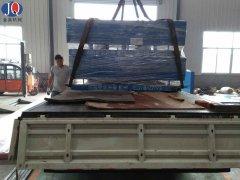 北京物流公司订购2台固定登车桥