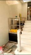 上海超薄残疾人升降机安装完毕